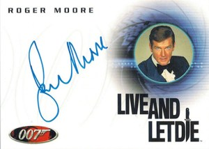 2004 Quotable James Bond A29 Roger Moore
