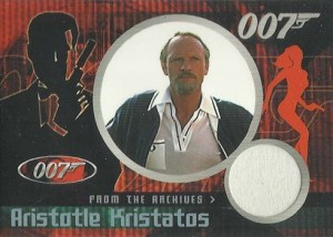 2004 Quotable James Bond From the Archives Costume Card CC5