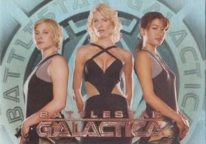2006 Battlestar Galactica Season 1 Women of Battlestar Galactica