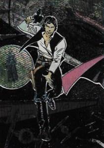 1993 Star Wars Galaxy Etched Foil