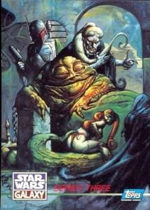 1995 Star Wars Galaxy Series 3 Base