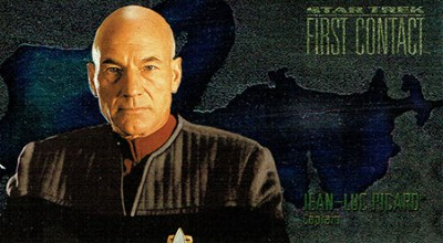 1996 Star Trek First Contact Character Cards