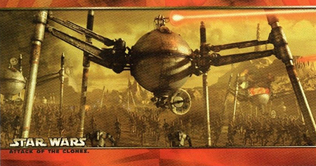 2002 Star Wars Attack of the Clones Widevision Promo Card P1