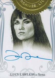 2004 Art and Images of Xena Autographs Lucy Lawless
