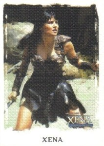 2004 Art and Images of Xena Base