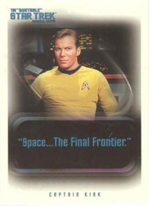2004 Quotable Star Trek TOS Promo P1