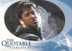 2006 Stargate Atlantis Season 2 Quotable