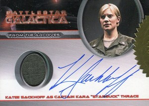 2007 Battlestar Galactica Season 2 Autographed Costume Katee Sackhoff