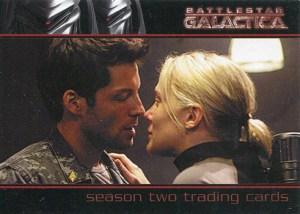 2007 Battlestar Galactica Season 2 Promo Card