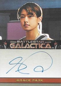2008 Battlestar Galactica Season 3 Autographs Grace Park
