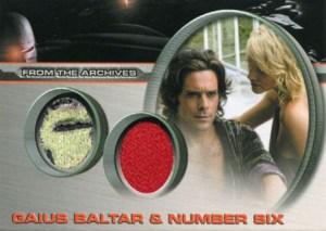 2008 Battlestar Galactica Season 3 Dual Costume Baltar Number Six