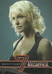2008 Battlestar Galactica Season 3 Significant Seven