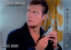 2008 James Bond In Motion Lenticular