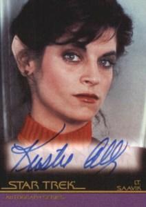 2008 Star Trek Movies In Motion Autographs A46 Kirstie Alley