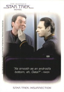 2008 Star Trek Movies In Motion Quotable
