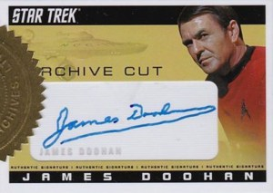 2008 Star Trek TOS 40th Anniversary Series 2 Archive Cut James Doohan