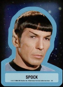 2008 Star Trek TOS 40th Anniversary Series 2 Stickers