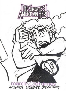 2009 Greatest American Hero Sketch Cards Duron