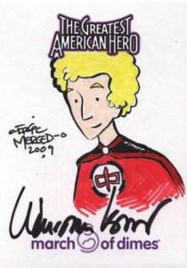 2009 Greatest American Hero Sketch Cards William Katt Autograph