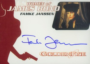 2009 James Bond Archives Autographs WA26 Famke Janssen