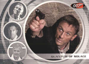 2009 James Bond Archives Quantum of Solace Expansion