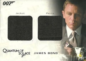 2009 James Bond Archives Relic QC17