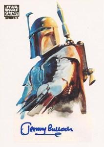 2010 Star Wars Galaxy 5 Autographs Jeromy Bulloch