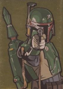 2010 Star Wars Galaxy 5 Gold Foil