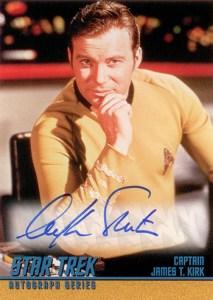 1998 Star Trek TOS Season 2 Autographs A31 William Shatner