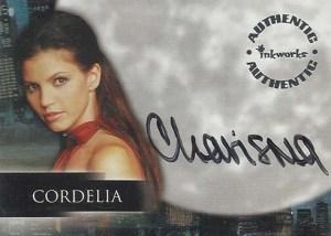 2001 Angel Season 2 Autographs A7 Charisma Carpenter