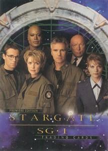 2001 Stargate SG-1 Premiere Edition Promo Card P1