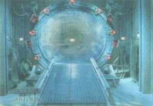 2001 Stargate SG-1 Premiere Edition Stargate In Motion