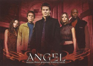 2002 Angel Season 3 Promo Card A3-1