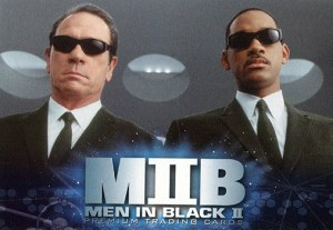 2002 Men In Black II Promo Card P-SD