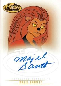 2003 Complete Star Trek Animated Adventures A5 Majel Barrett Ress