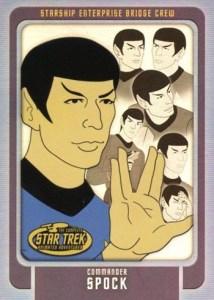 2003 Complete Star Trek Animated Adventures Bridge Crew