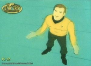 2003 Complete Star Trek Animated Adventures Kirk In Motion