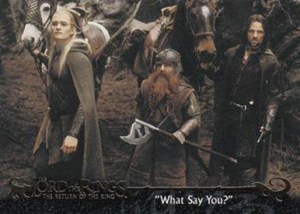 2003 Lord of the Rings Return of the King Base