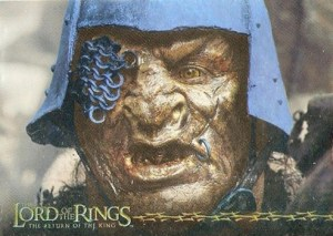 2003 Lord of the Rings Return of the King Prismatic Foil