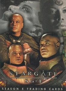 2003 Stargate SG-1 Season 5 Promo Card P1