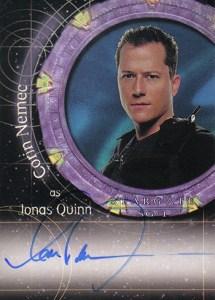 2004 Stargate SG-1 Season 6 Autographs A26 Corin Nemec