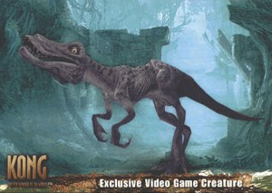 2005 King Kong Video Game Creature