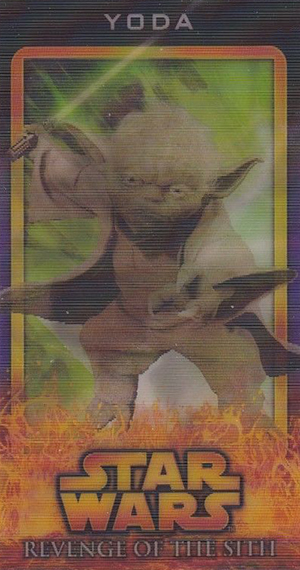 2005 Star Wars Revenge of the Sith Widevision Flix Pix