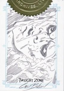 2005 Twilight Zone Series 4 SketchaFEX