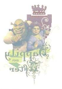 2007 Shrek the Third Tattoo