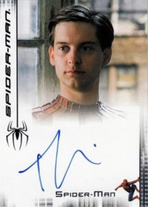 2007 Spider-Man 3 Autographs Tobey Maguire