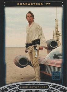 2007 Star Wars 30th Anniversary Blue