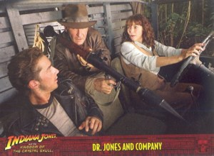 2008 Indiana Jones and the Kingdom of the Crystal Skull Promo Card P4