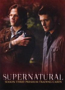 2008 Supernatural Season 3 Promo Card P-UK