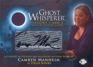 2009 Ghost Whisperer Seasons 1 and 2 Autographed Costume GAC3 Camryn Manheim